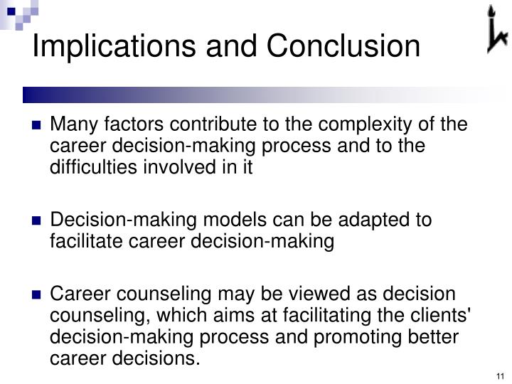 Implications and Conclusion