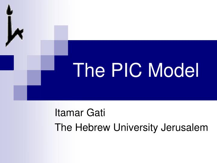 The pic model
