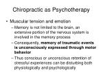 chiropractic as psychotherapy2