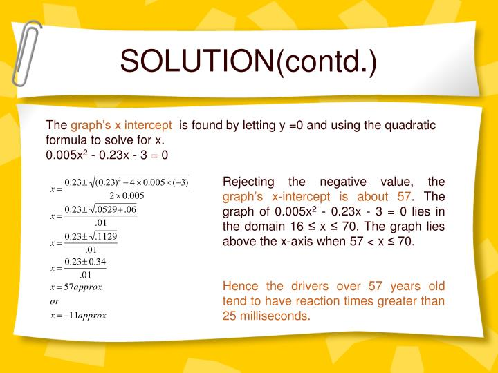 SOLUTION(contd.)