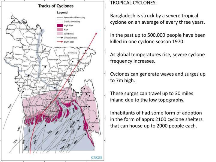 TROPICAL CYCLONES: