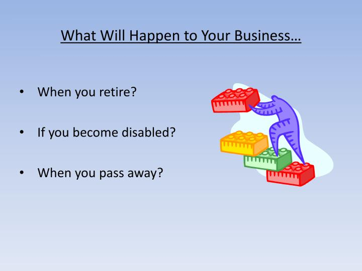What Will Happen to Your Business…