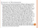 summary of wintersmith