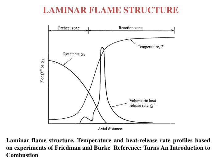 LAMINAR FLAME STRUCTURE
