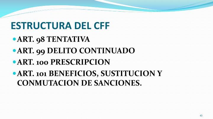 ESTRUCTURA DEL CFF