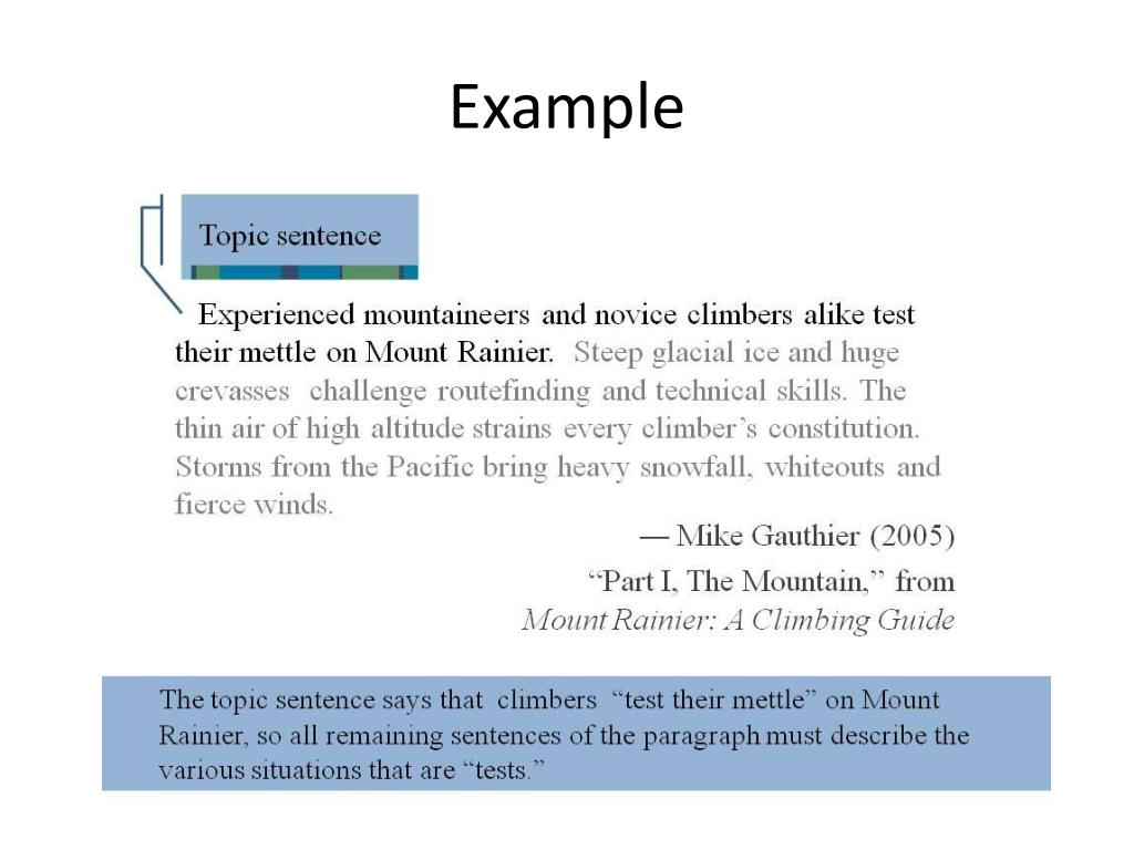Essay questions and examples
