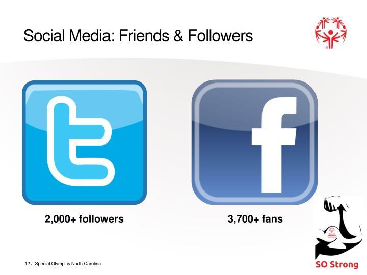 Social Media: Friends & Followers