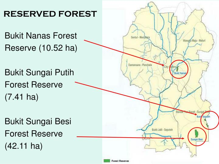 RESERVED FOREST