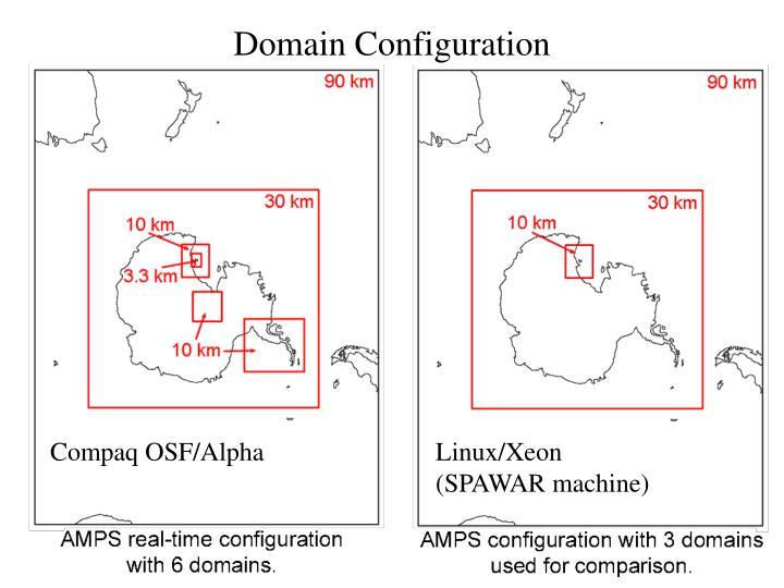 Domain configuration
