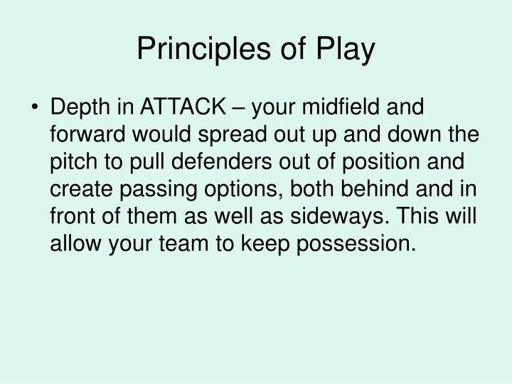 Principles of Play