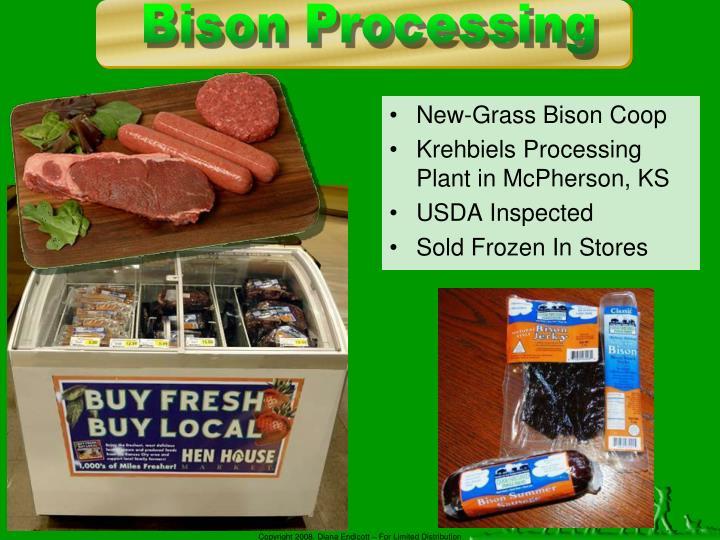 New-Grass Bison Coop