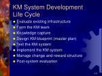 km system development life cycle