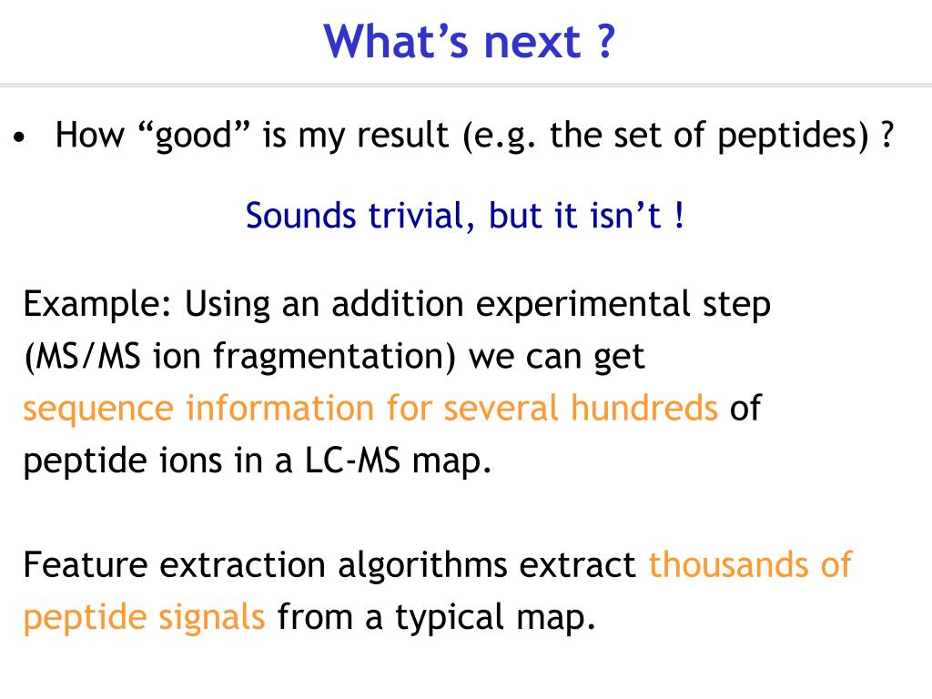 PPT - Algorithms for Peptide Mass Spectrometry PowerPoint