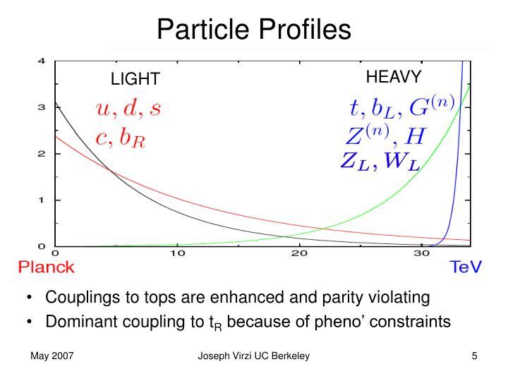 Particle Profiles