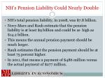 nh s pension liability could nearly double