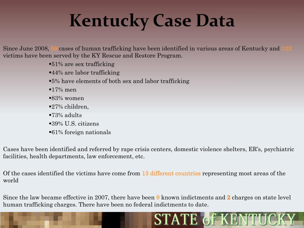 PPT - Kentucky Case Data PowerPoint Presentation - ID:3206417