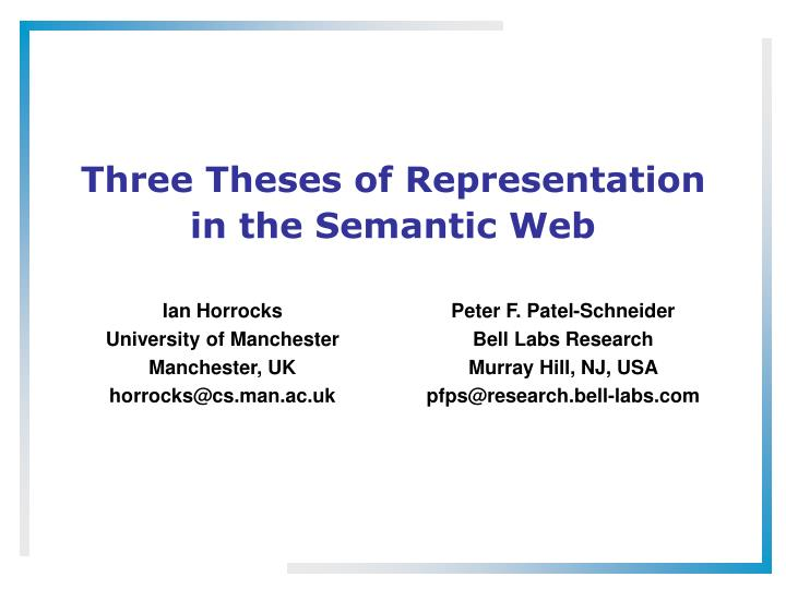 semantic web master thesis Ph d thesis japan ryutarou ohbuchi professor computer science and short biography (ieee style) bjrn w schuller received his semantic web master thesis diploma in 1999 his doctoral degree for his study on automatic speech and emotion recognition in 2006 news paper semantic web master thesis accepted at web intelligence 2017.