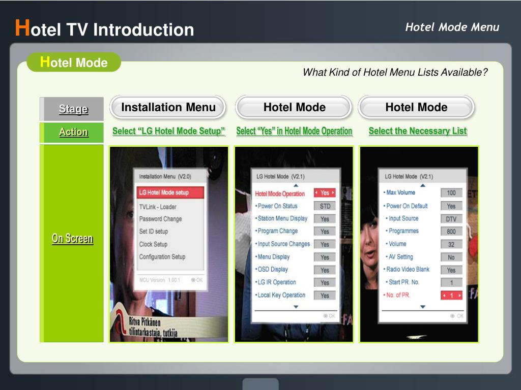 PPT - LG Hotel TV Introduction 2009 EU Commercial Roadshow