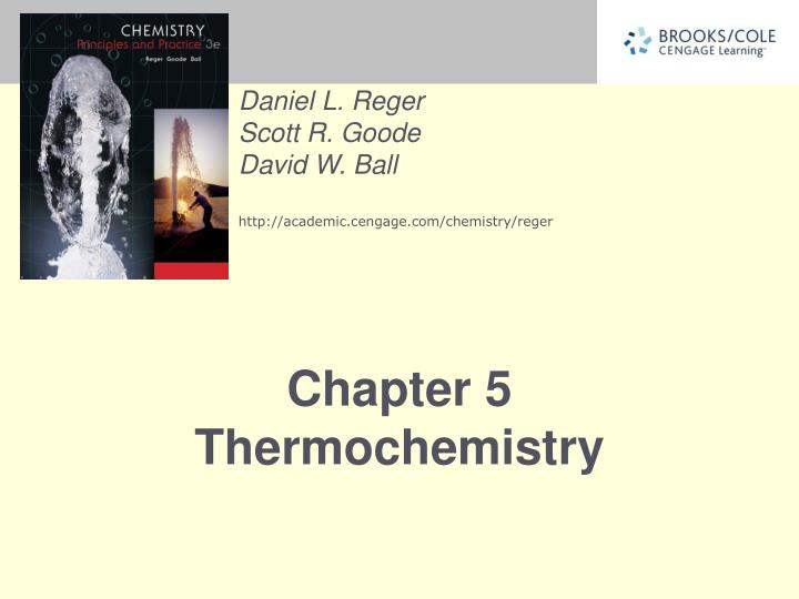 chapter 5 thermochemistry n.