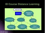 id course distance learning1