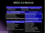 misa 4 0 method