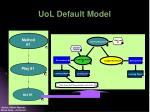 uol default model