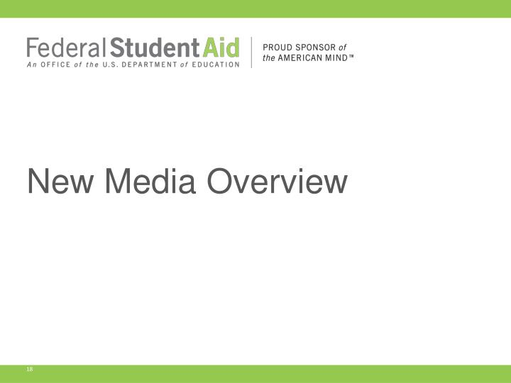 New Media Overview