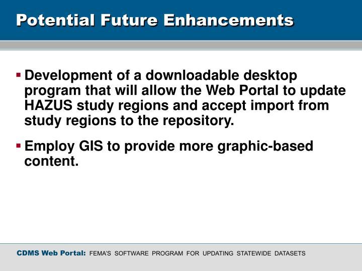 Potential Future Enhancements
