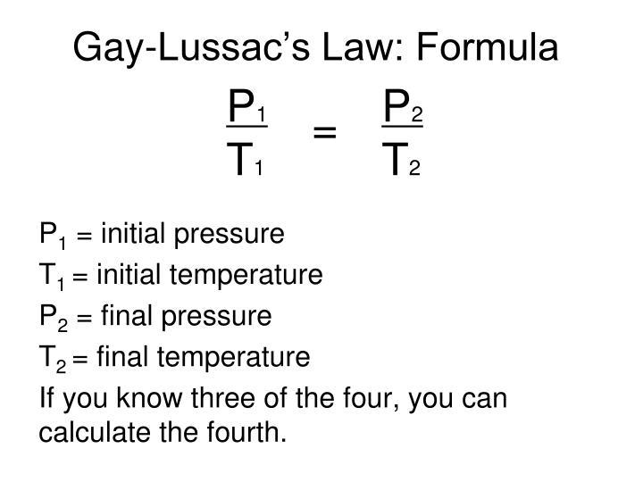 from Eduardo gay lussac laws