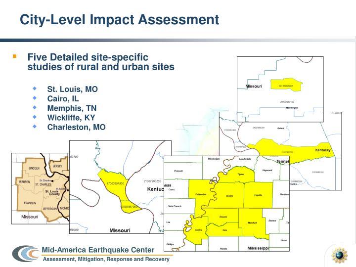 City-Level Impact Assessment
