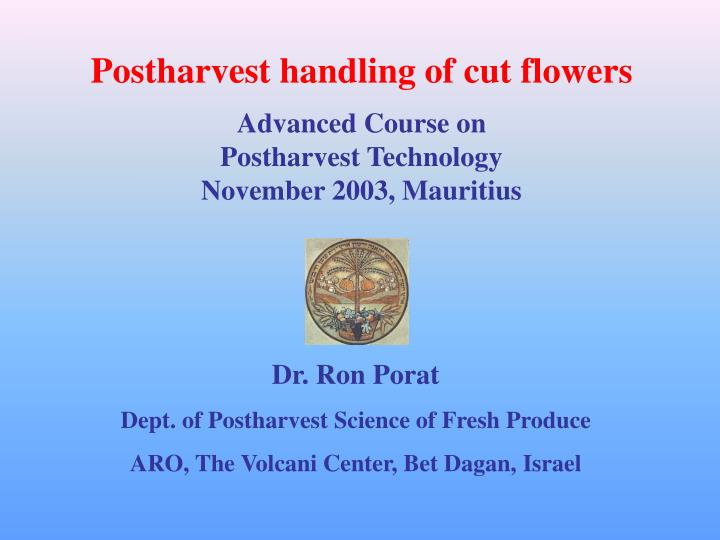postharvest At this point, postharvest handling is becoming more important, which is the main determinant of the postharvest losses hence, the present book is intended to provide useful and scientific information about postharvest handling of different produce.