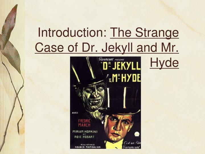 a description of the term jekyll and hyde