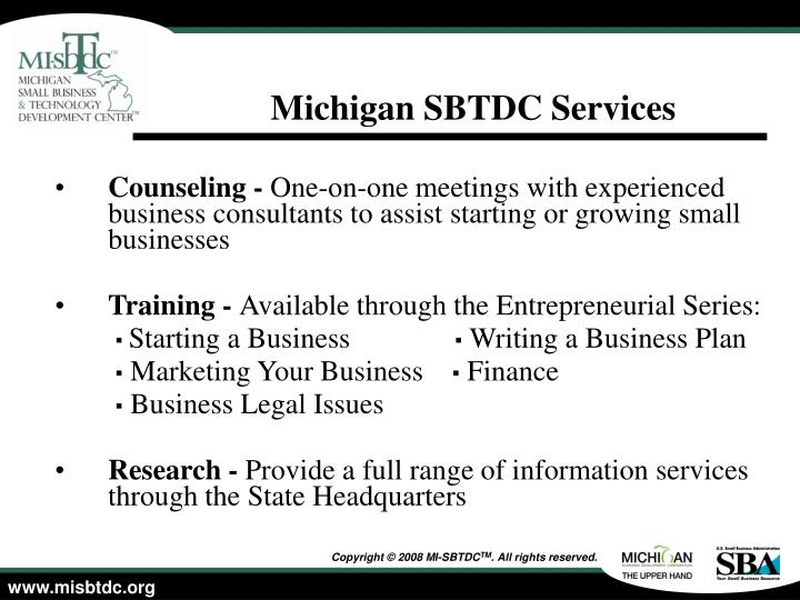 mi sbtdc business plan