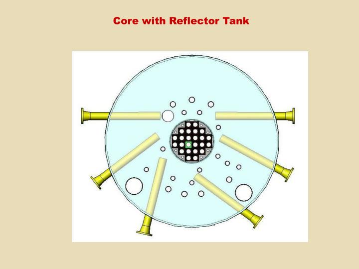 Core with Reflector Tank