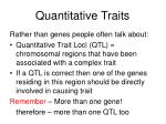 quantitative traits3