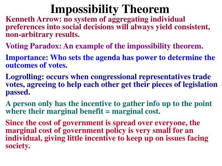 Impossibility Theorem
