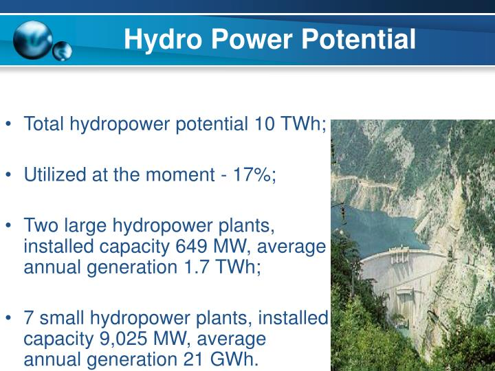 Hydro Power Potential