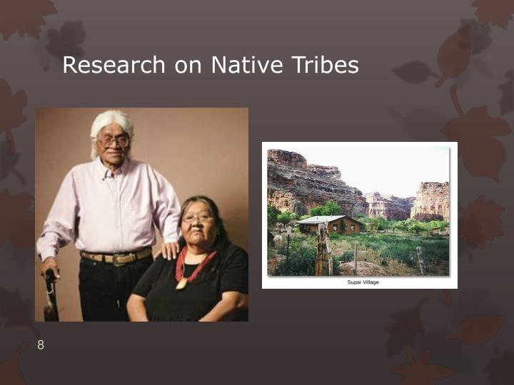 Research on Native Tribes