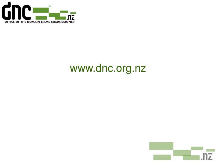 www.dnc.org.nz