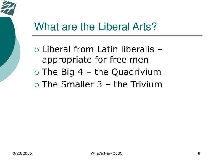 What are the Liberal Arts?