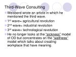 third wave consulting