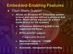 embedded enabling features1