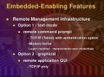 embedded enabling features6