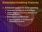 embedded enabling features7