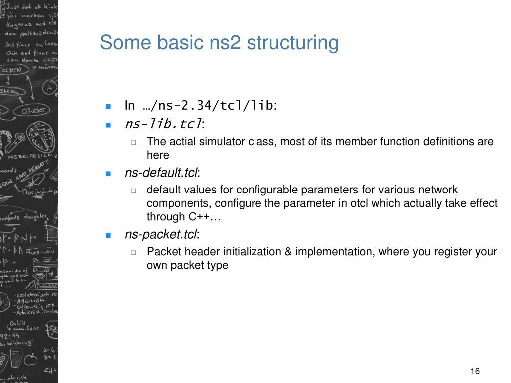PPT - TNK092: Network Simulation/Nätverkssimulering Network