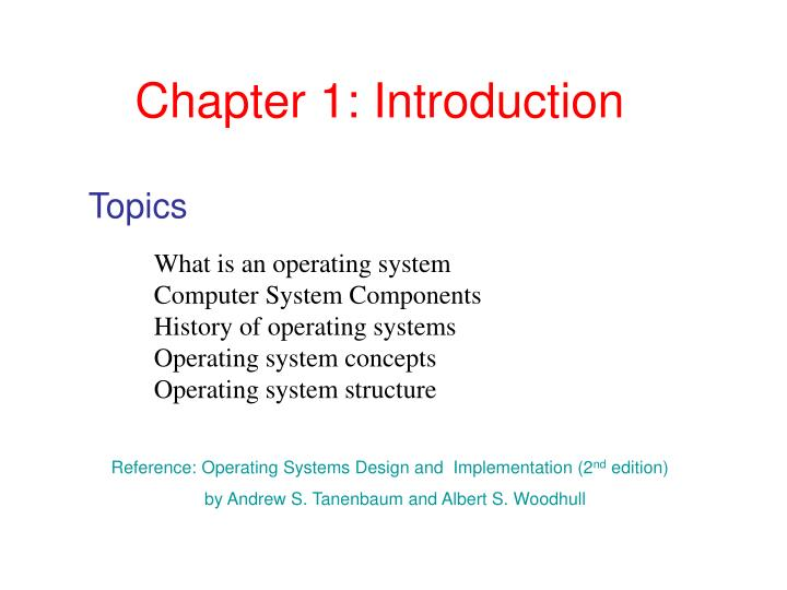 Ppt Chapter 1 Introduction Powerpoint Presentation Free Download Id 3209081