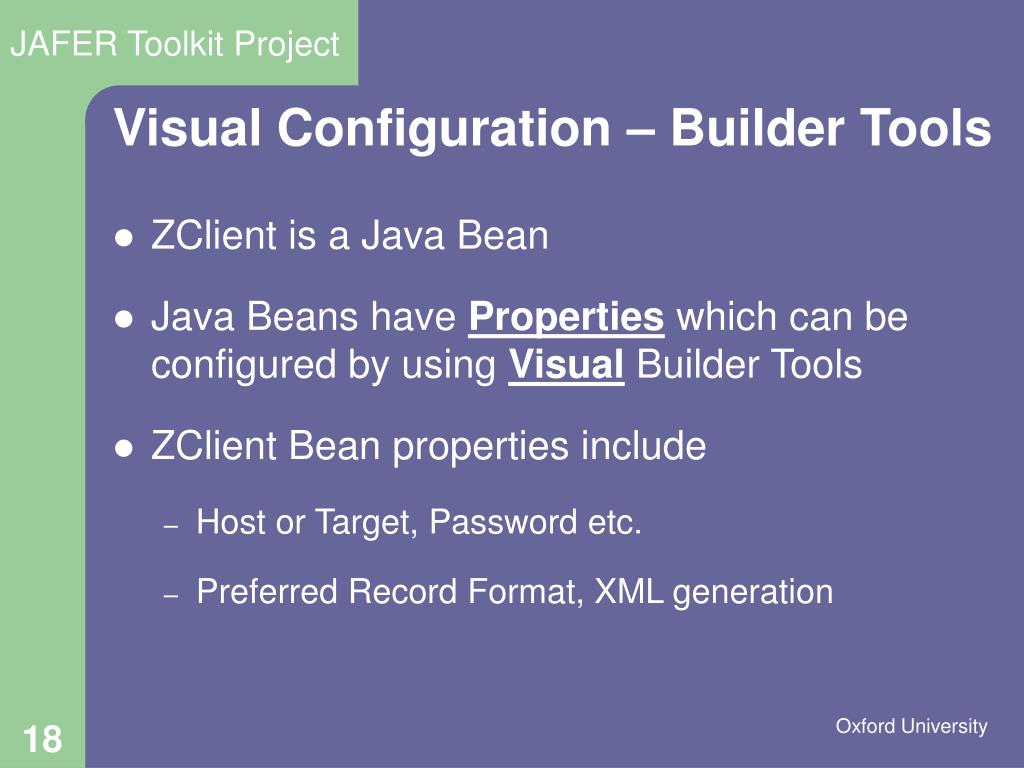 PPT - JAFER Java-based high level Z39 50 toolkit PowerPoint