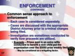 enforcement continued1