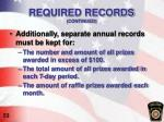 required records continued4