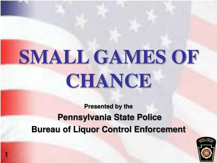 small games of chance